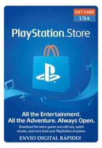 Cartão Psn Playstation Network Card Americano